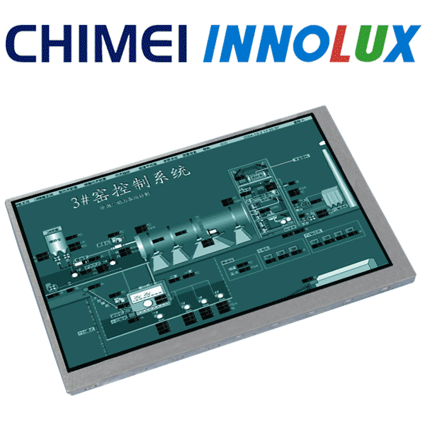 "7/"" Innolux G070Y2-L01 LED LCD display screen LCD Panel 800*480 20pins"